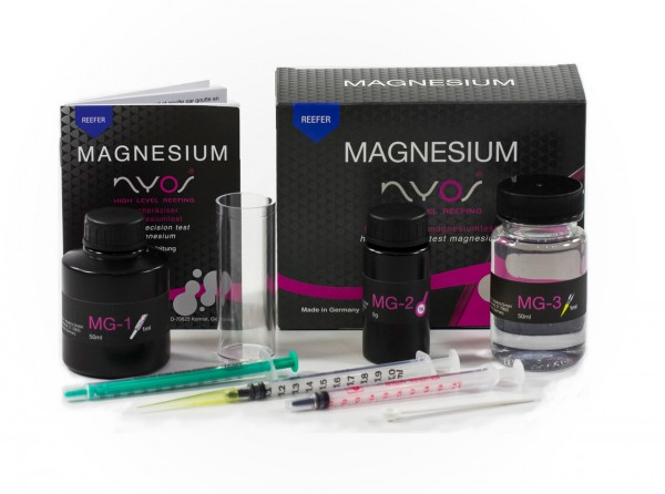 NYOS Magnesium Test Reefer Wassertest