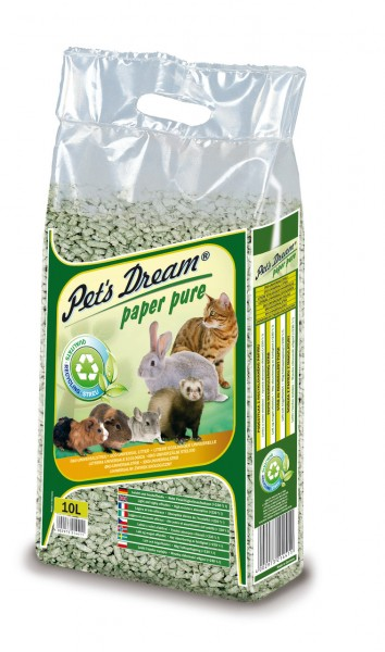 Pet's Dream Paper Pure 10 Liter Einstreu
