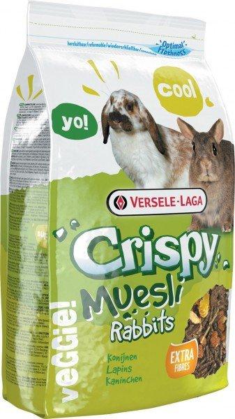 Crispy Muesli - Rabbits 2,75kg Kleintierfutter für Kaninchen