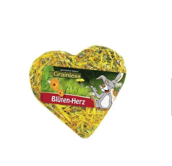 JR FARM Grainless Blüten-Herz 90g Kleintierfutter