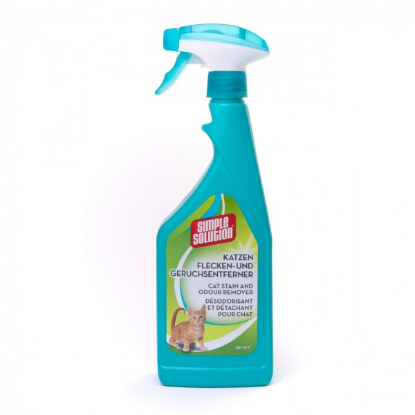 Simple Solution Katzen Flecken-& Geruchsentferner 750 ml Sprühflasche
