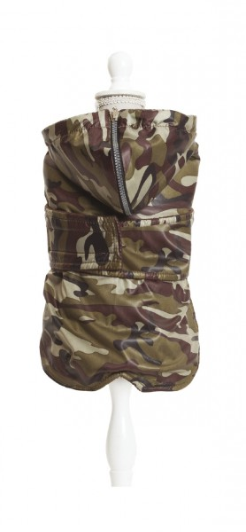 CROCI Daily Reloaded Jacke Dachshund Military Hundebekleidung