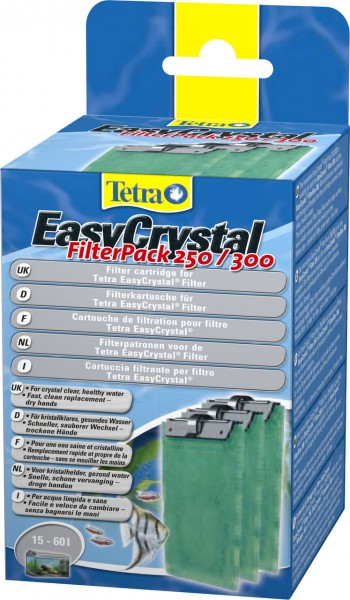 Tetra EasyCrystal Filter Pack 250/300 Filtermedium