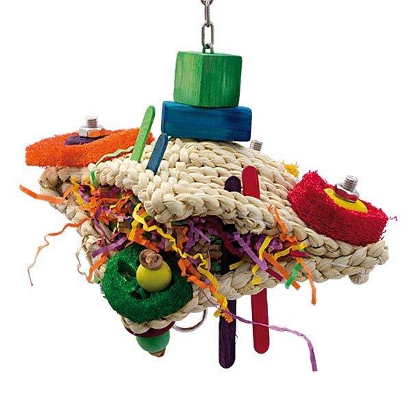 Happy Frog Spielzeug für Papageien