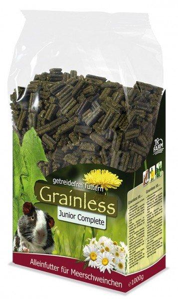 JR FARM Nager Grainless Complete Meerschweinchen Junior 1kg Kleintierfutter