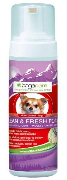bogacare CLEAN & FRESH FOAM 150ml Haut- & Fellpflege für Hunde