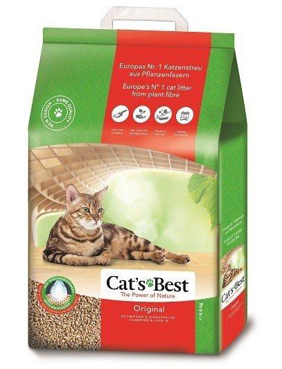 CAT'S BEST Original 8,6kg (ca. 20 Liter) Katzenstreu