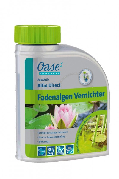 Oase AquaActiv AlGo Direct 500 ml Fadenalgen Vernichter