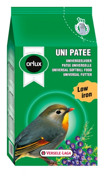 VERSELE-LAGA Uni Patée für insektenfressende Vögel 1kg Vogelfutter