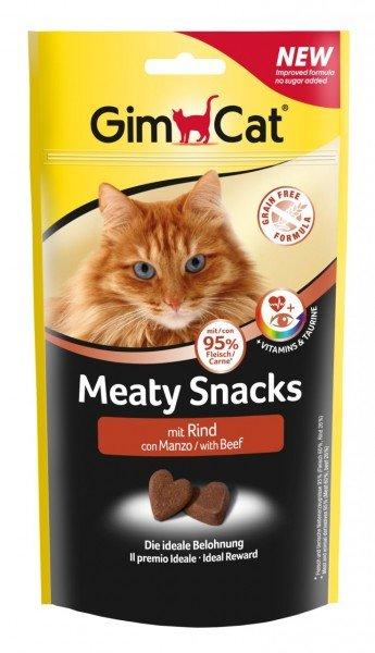 GimCat Meaty Snacks Rind 35g Katzensnack