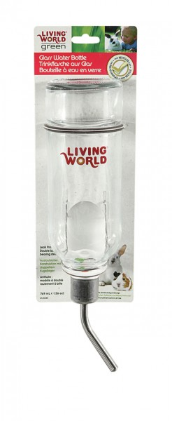 Living World Green Wasserflasche 769 ml