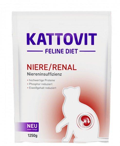 KATTOVIT Feline Diet Niere/Renal Katzentrockenfutter Diätnahrung
