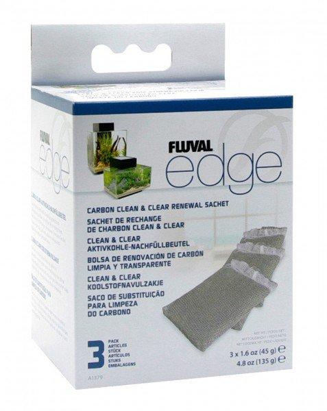 FLUVAL Edge Aktivkohle Filtereinsatz (3 Stück)