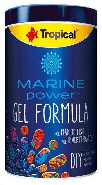 Tropical Marine Power Gel Forula 1000ml Hauptfuter für Zierfische und Wirbellose