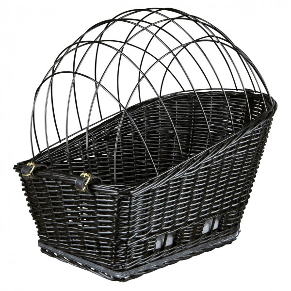 TRIXIE Hundekorb für Fahrrad-Gepäckträger 35x49x55cm schwarz
