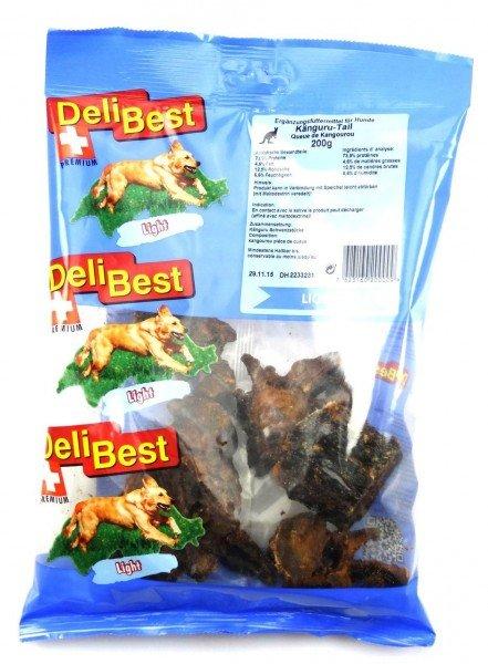 DeliBest Känguru Tail 200g Hundekauartikel