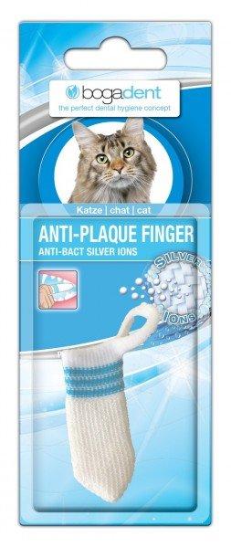 bogadent ANTI-PLAQUE FINGER Zahnbürste Zahnpflege für Katzen