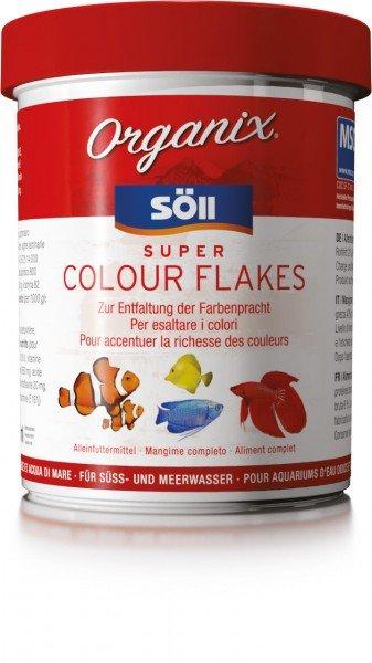 Söll Organix Super Colour Flakes 1 Liter Hauptfutter