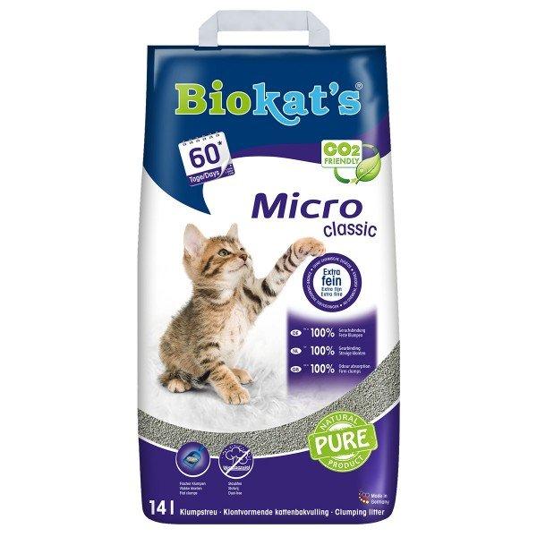 Biokat's Micro Classic 14 Liter Feinstreu Katzenstreu