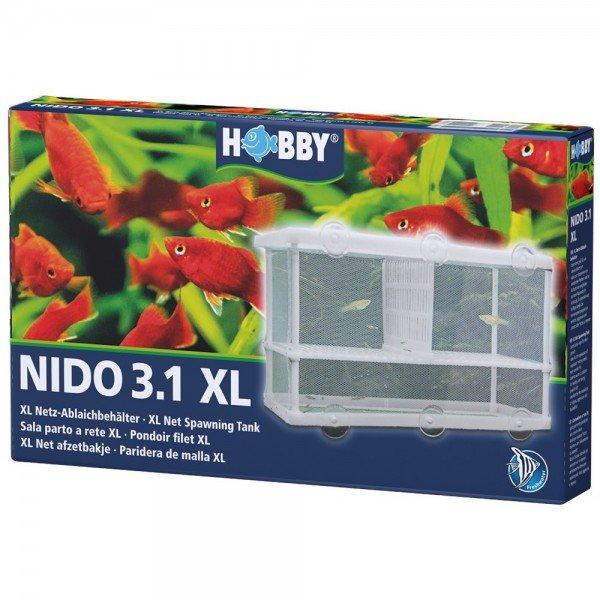 HOBBY Nido 3.1 25 x 15 x 14,5 cm Netz-Ablaichbehälter