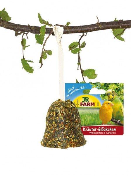 JR FARM Birds Kräuter-Glöckchen 55g Vogelsnack