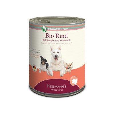 Sparpaket Herrmann's Selection Erwachsen 12x800g Dose Hundenassfutter