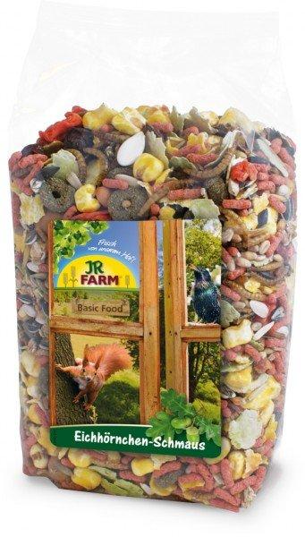 JR FARM Eichhörnchen-Schmaus 600g Wildtierfutter