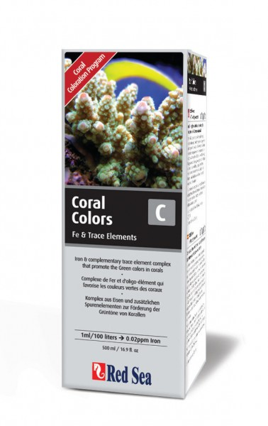 Red Sea Coral Colors C (Eisen/Spurenelemente) 500 ml