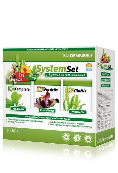 DENNERLE Perfect Plant System Set E15 20 Tabs + S7 50ml + V30 50ml