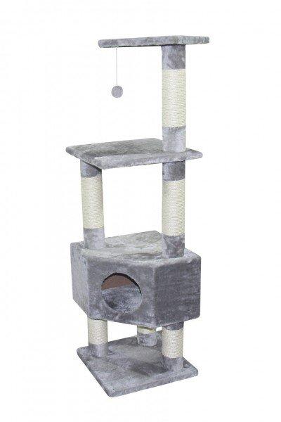Nobby Kratzbaum Classic Etsch 40x40x136cm grau