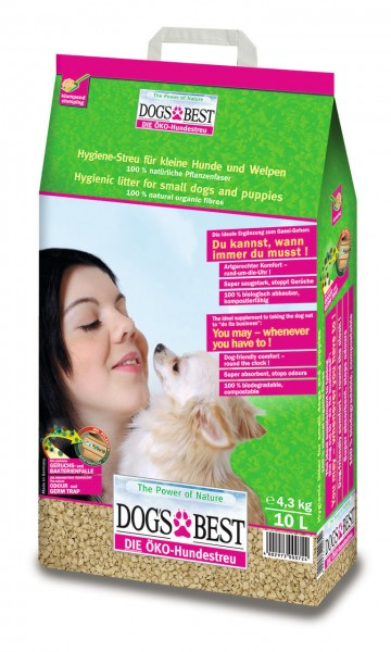 DOG'S BEST Hundestreu 10 Liter