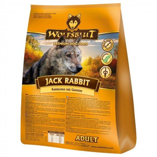 WOLFSBLUT Jack Rabbit mit Kaninchen & Gemüse Hundetrockenfutter