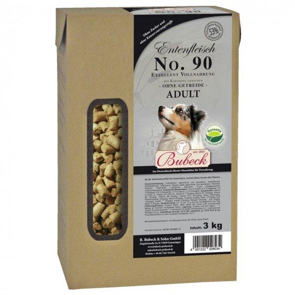 Bubeck Nr. 90 Adult Entenfleisch mit Kartoffel gebacken Hundetrockenfutter
