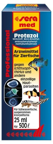 sera med Professional Protazol 25 ml Medikament für Zierfische