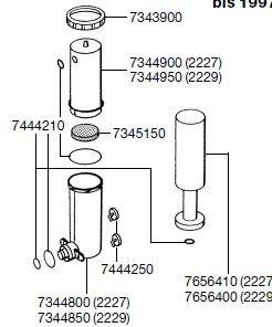 EHEIM 2615270 Vorfilterpatrone (2 Stück) für 2227/29, 2327/29