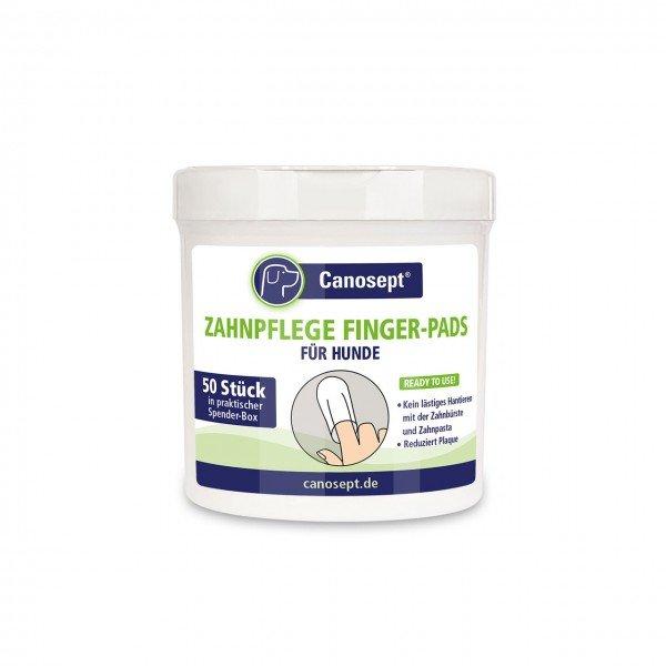 Canosept Zahnpflege-Pads 50 Stück Hundepflege