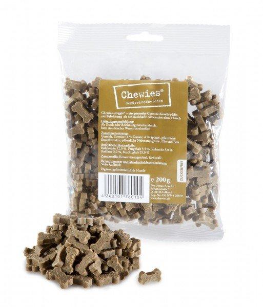 Chewies Gemüseknöchelchen 200g Hundesnack