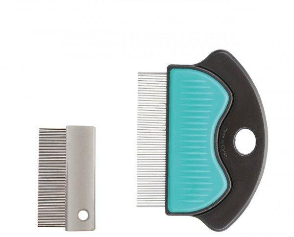TRIXIE Floh-/Staubkamm aus Metall 6 Centimeter