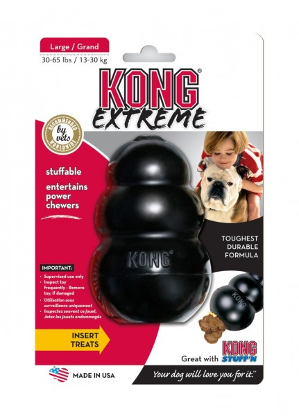 KONG Extreme L schwarz Hundespielzeug