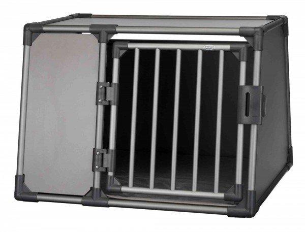 TRIXIE Transportbox Aluminium L 92x78x64cm graphit