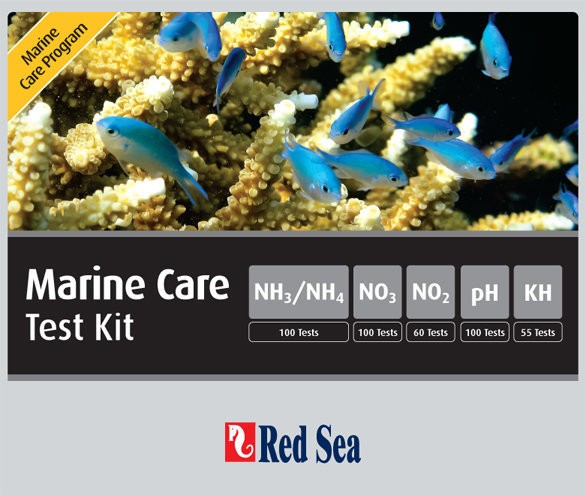 Red Sea Marine Care Test