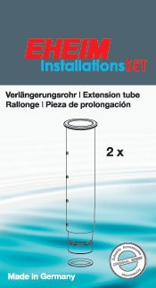 EHEIM 4009610 Verlängerungsrohr (2 Stück) für InstallationsSET 1 (4004300/4005300) Zubehör