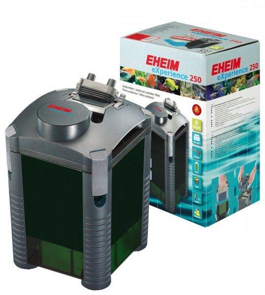 EHEIM 2424 eXperience 250 Außenfilter mit Filtermasse