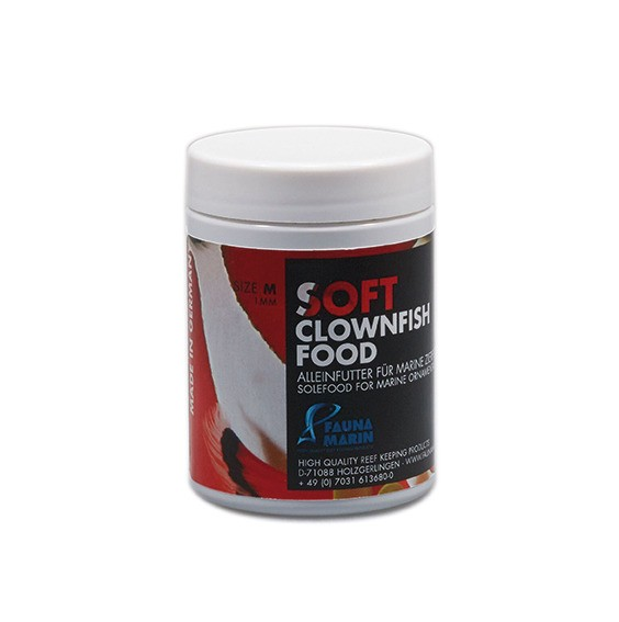 FAUNA MARIN Soft Clownfisch Food M 100ml Futtergranulat