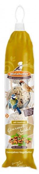 Welzhofer Gourmet-Knödelspender mit Insekten 5 x 100g für Wildvögel