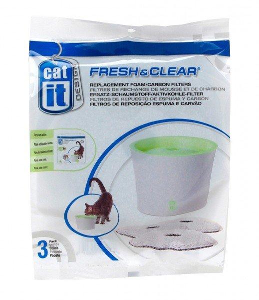 catit Ersatzfilter für Trinkbrunnen 3 Liter (3 Stück)