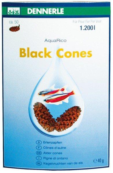 DENNERLE Black Cones 40g für 1.200 Liter