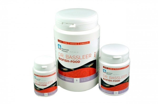 Dr. Bassleer Biofish Food Baby+Nano S 60g Fischfutter