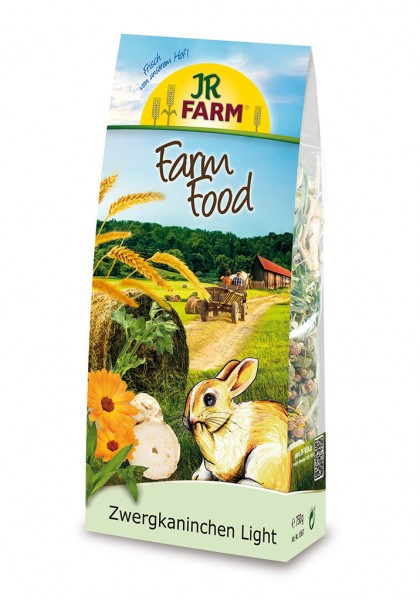 JR FARM Nager Farm Food Zwergkaninchen Light 750g Kleintierfutter