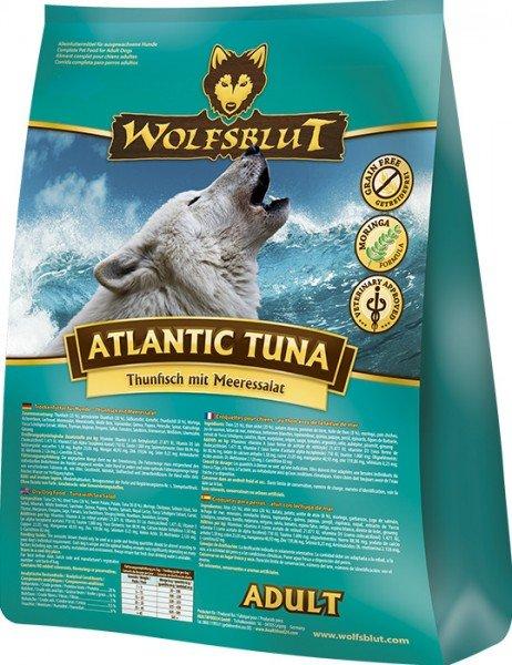 WOLFSBLUT Atlantic Tuna Thunfisch mit Meeressalat Hundetrockenfutter